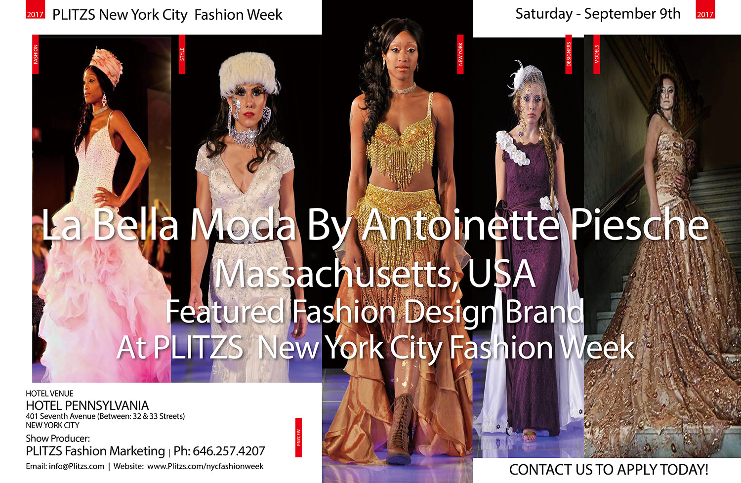 La Bella Moda Home Page Plitzs New York City Fashion Week