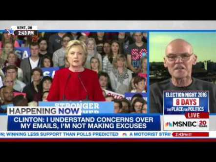 Clinton campaign embraces outright insanity to draw attention from emails