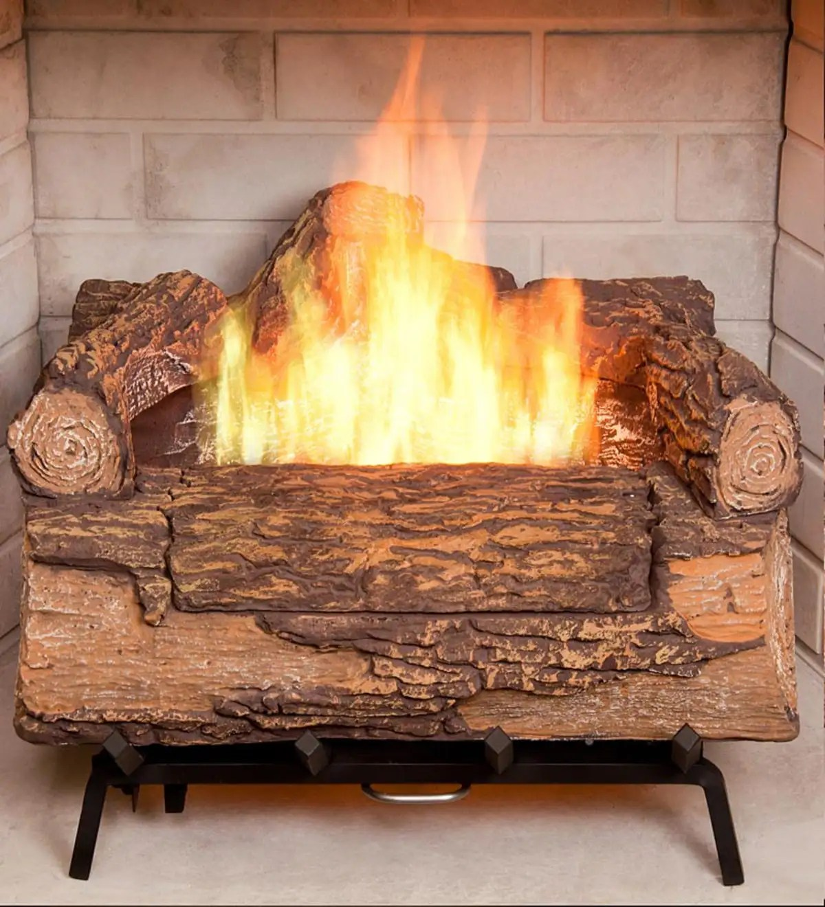Gas Log Starters For Fireplace Illuma Bio Ethanol Fireplace Log Set Plowhearth