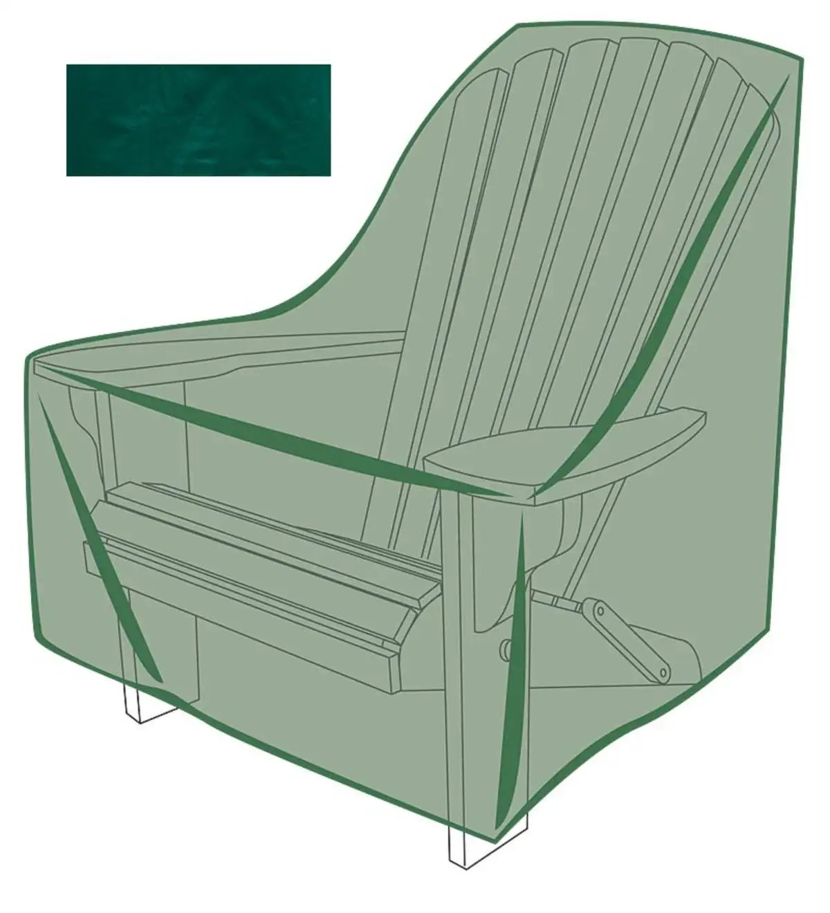 Outdoor Covers Outdoor Furniture Cover For Adirondack Chair Plowhearth
