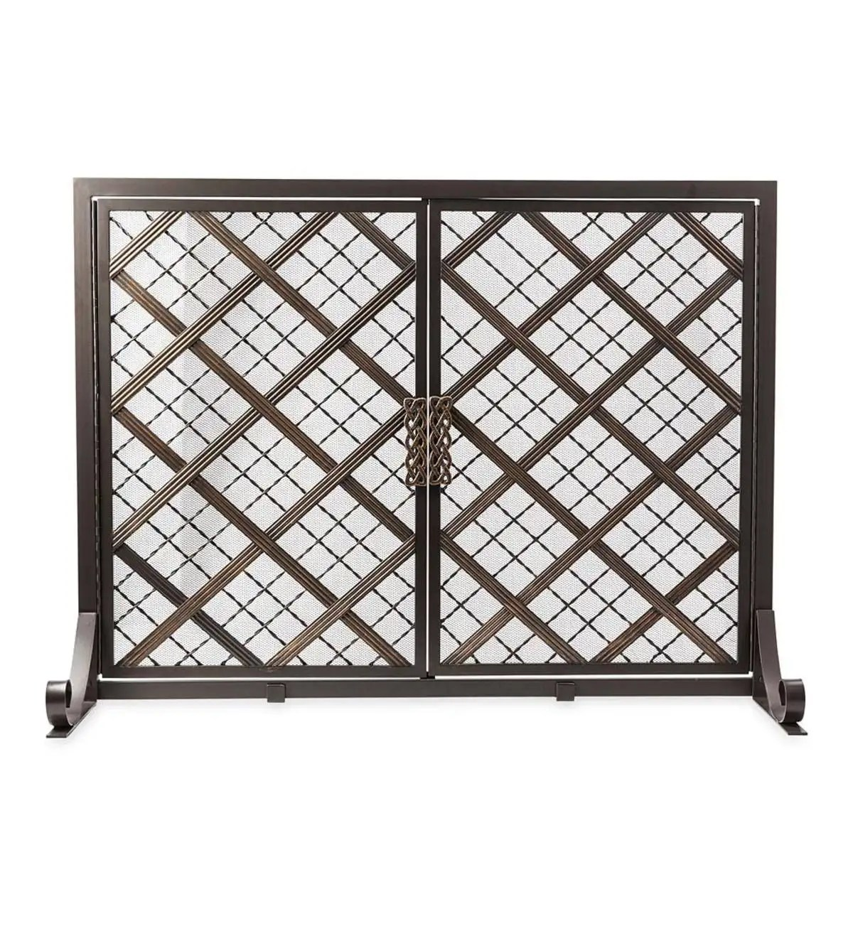 Small Fireplace Screens Under 30 Wide Mccormick Celtic Fireplace Screen Large