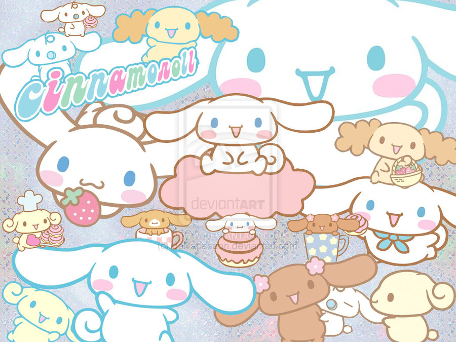 Cute Kitty Wallpaper Desktop ชินนามอนโรล Sanrio
