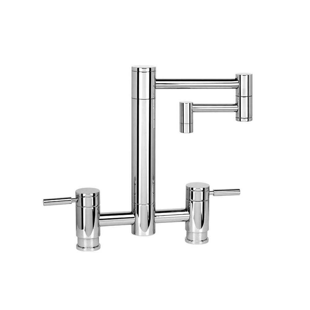 Kitchen faucets Bridge v45 articulating kitchen faucet 1 20 2 00