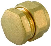 Buy Compression Stop End Brass - Copper/Plastic Pipe ...