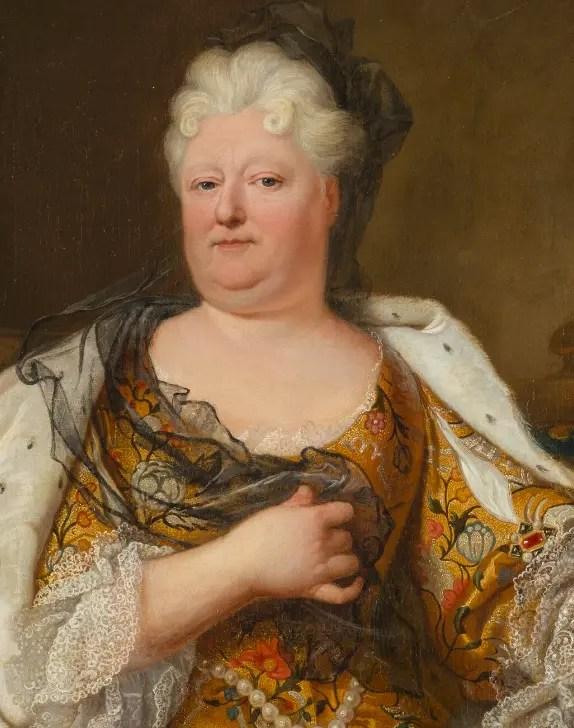 La Palatine peinte par Hyacinthe Rigaud au XVIIème siècle - Musée du château de Versailles et de Trianon