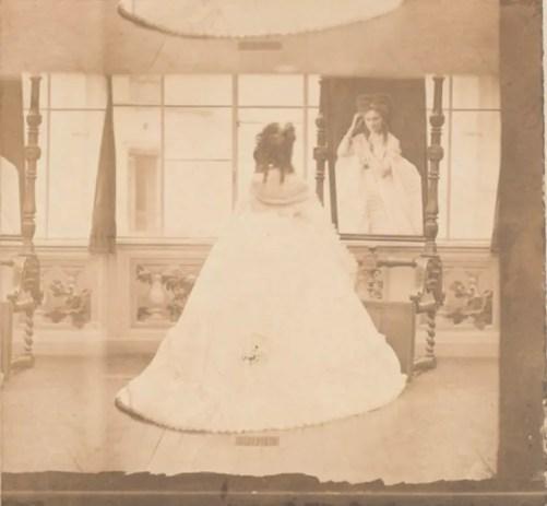 Elivira à la Psyché (1861 - 1867) Virginia de Castiglione par Pierson