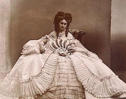 Elvira (1862 - 1865) - Virginia de Castiglione par Pierson