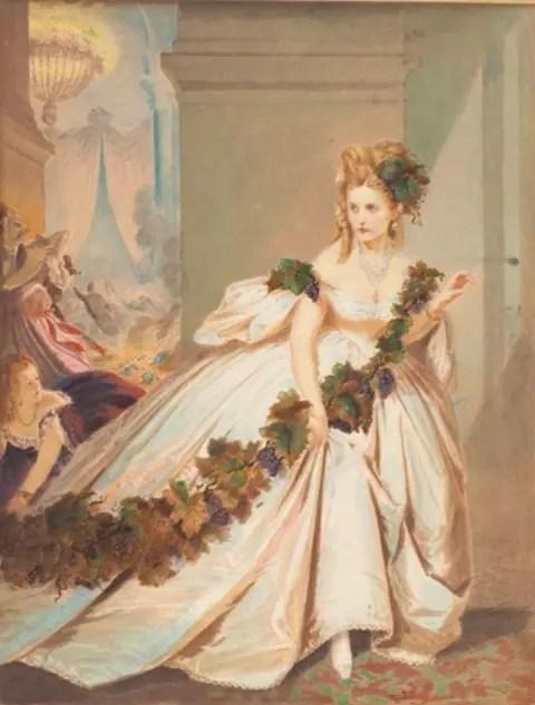 La Frayeur (1861 - 1867) - Virginia de Castiglione par Pierson