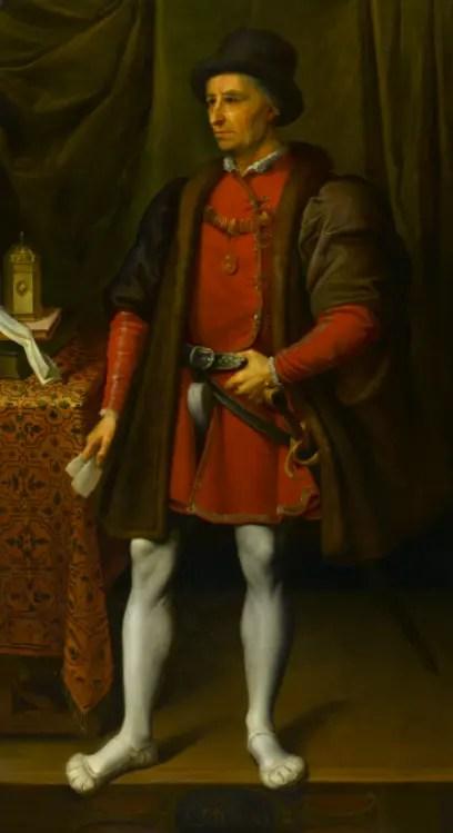 Louis XI par Jean-Léonard Lugardon (XIXème) - Musée Anne de Beaujeu, Moulins