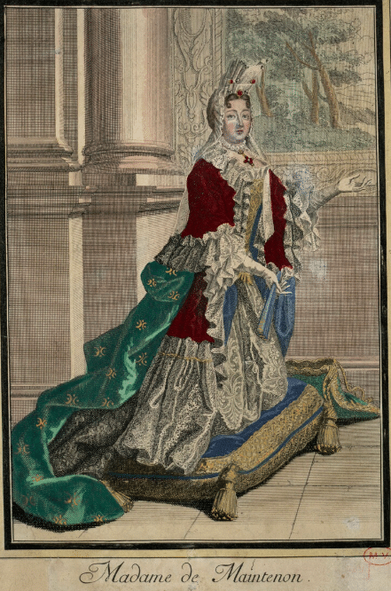 Estampe Madame de Maintenon