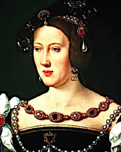 Variante d'un portrait d'Eléonore de Habsbourg, seconde épouse de François Ier, réalisé par Joos Van Cleve en 1530.