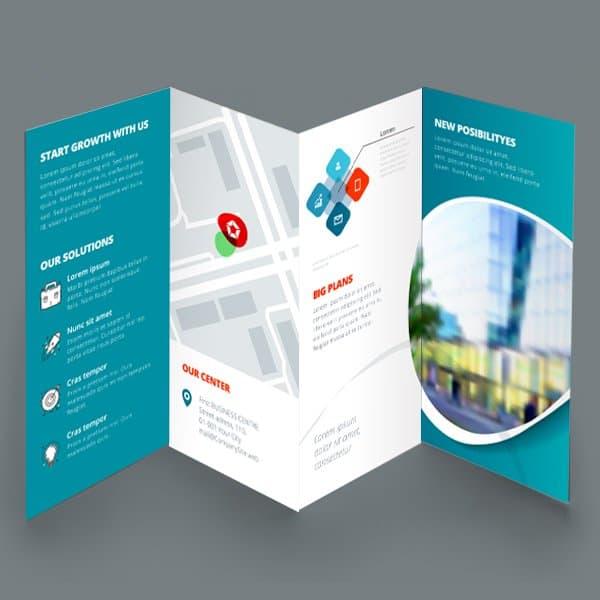 8-Panel Accordion-fold Brochures Plum Grove