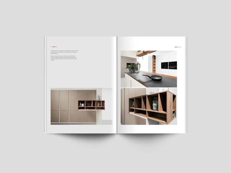 Cucine Gatto Catalogo | Cucina Isola Curva By Gatto Arredamenti Aversana