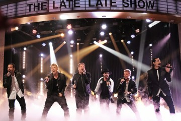 Backstreet Boys. James Corden. The Late Late Show. Everybody (Backstreet's Back). Cúsica Plus