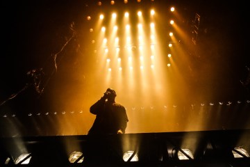 Kanye West. Saint Pablo Tour. Tarima Flotante. The Life of Pablo. Cúsica Plus