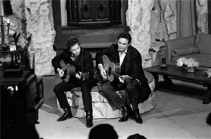 Bob Dylan. Johnny Cash. Cúsica Plus.