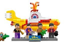 Lego lanza un nuevo set de bloques armables inspirado en 'Yellow Submarine' de The Beatles. Cúsica Plus