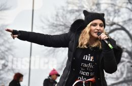 Escucha los potentes discursos de Madonna y Alicia Keys en la Women's March. Cusica Plus