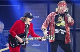 Axl Rose podría grabar nuevo disco de AC/DC. Cusica plus