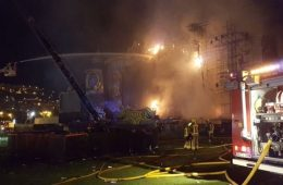 Incendio obligó a desalojar Tomorrowland Barcelona. Cusica Plus.