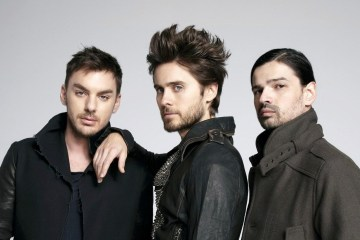 Jared Leto y Thirty Seconds To Mars le rinden tributo a sus grandes influencias. Cusica Plus.