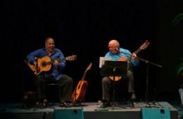 Aquiles Baez y Miguel Delgado Estévez sumarán sus guitarras en busca de la paz. Cusica Plus.