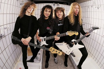 Escucha la reedición del poderoso disco 'Master Of Puppets' de Metallica. Cusica Plus.