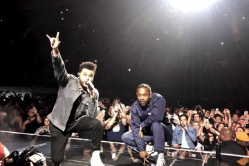 Kendrick Lamar y The Weeknd rezan en el nuevo sencillo de 'Black Panther'. Cusica Plus.