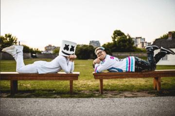 """Slushii colabora con Marshmello en la colorida electrónica de """"There x2"""". Cusica Plus."""