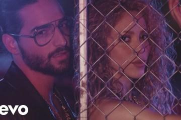 """Shakira y Maluma publican videoclip de """"Clandestino"""". Cusica Plus."""