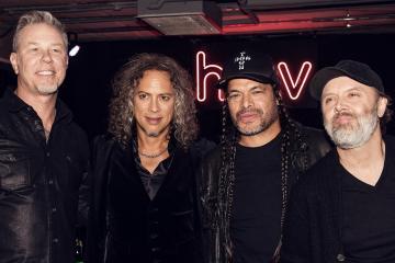 Metallica lanzó su propia línea de relojes. Cusica Plus.