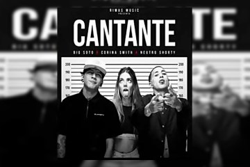 "Neutro Shorty, Corina Smith y Big Soto presentaron su tema ""Cantante"". Cusica Plus."