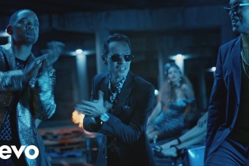 "Will Smith, Bad Bunny y Marc Anthony se juntan en el tema ""Está Rico"". Cusica Plus."
