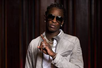 Young Thug presenta su nuevo EP 'On the Rvn', con Jaden Smith y Elton John. Cusica Plus.