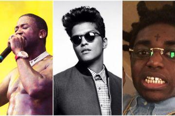 Bruno Mars dirige el video de su tema con Gucci Mane y Kodak Black. Cusica Plus.