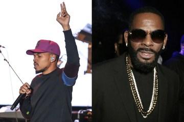 Chance The Rapper y Celine Dion eliminan sus colaboraciones con R. Kelly. Cusica Plus,