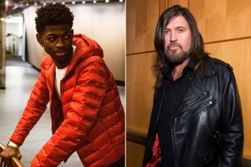 "Lil Nas X y Billy Ray Cyrus, cantaron por primera vez en vivo ""Old Town Road"". Cusica Plus."