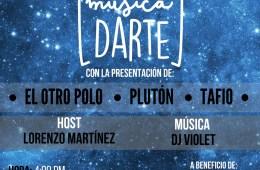 """Cusica Live acogerá la nueva edición de 'MúsicaDarte"""" este domingo. Cusica Plus."""