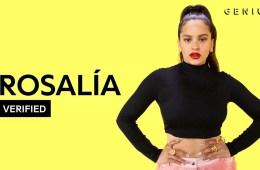 """Rosalía habla del significado de su tema """"Con Altura"""". Cusica Plus."""