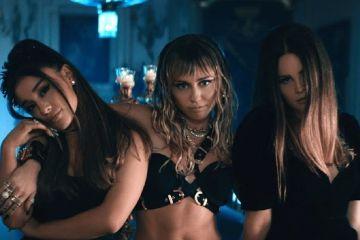 Ariana Grande, Lana Del Rey y Miley Cyrus, se unen en un nuevo tema. Cusica Plus.