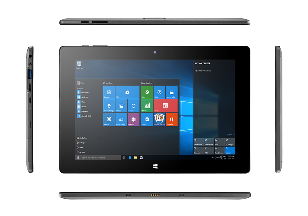 Camera Surveillance Bluetooth 10.1 Inch Windows 10 Tablet Pc (quad Core Cpu, Otg, Wi-fi