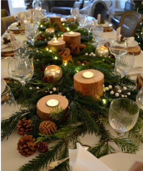 Pot De Decoration Interieur Table De Noël 2018-tendances Déco-blog Plus De Coton