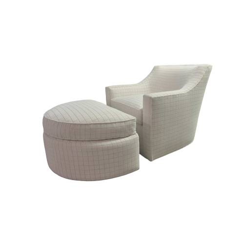 Medium Crop Of Plush Chair And Ottoman