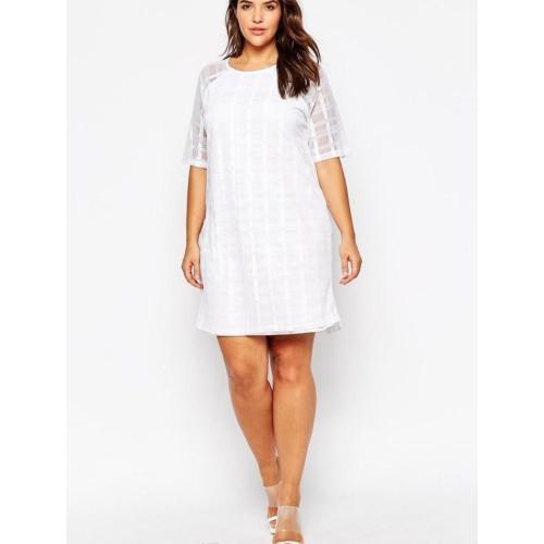Medium Crop Of Plus Size White Dresses