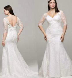 Double Sleeves Compare Size Online Wedding Dress Size Uk Size Lace Wedding Dress Plus Size Wedding Dresses Sleeves Collection Wedding Dress Size Wedding Dresseswith Sleeves