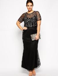 Plus Size Black Cocktail Dresses With Sleeves - Eligent ...