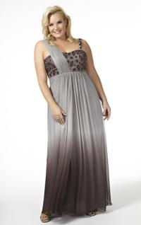 Plus size bridal party dresses