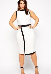 Fitted dresses for plus sizes - PlusLook.eu Collection