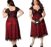 Cheap plus size red dresses - PlusLook.eu Collection