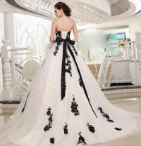 Black And White Princess Wedding Dresses | www.pixshark ...